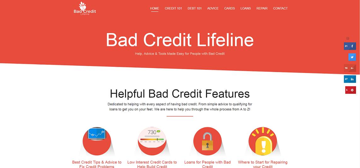 Bad Credit Lifeline Project